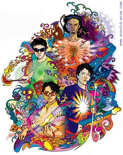 Eraserheads Anthology 2 illustration