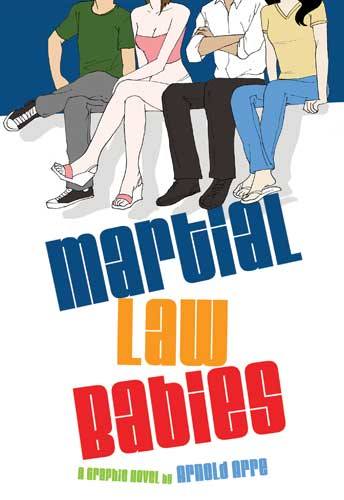 Martial Law Babies a graphic novel by Arnold Arre