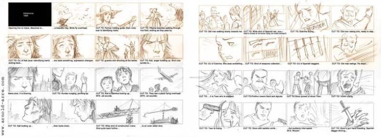 lakas ng lahi storyboards