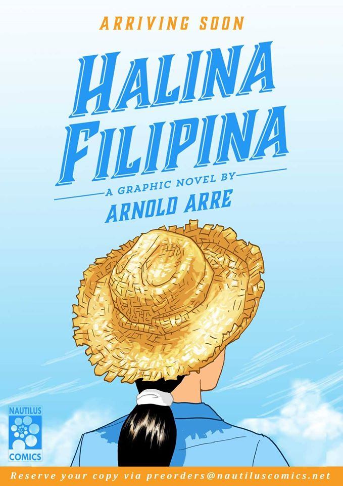 Halina Filipina graphic novel Arnold Arre