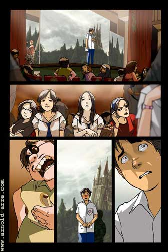 Cast Comic
