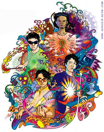 Eraserheads Anthology 2 illustration