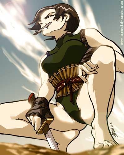 Warrior Kai for Angel Ace