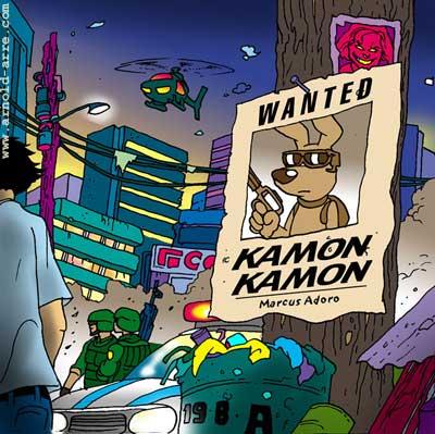 Kamon Kamon by Marcus Adoro