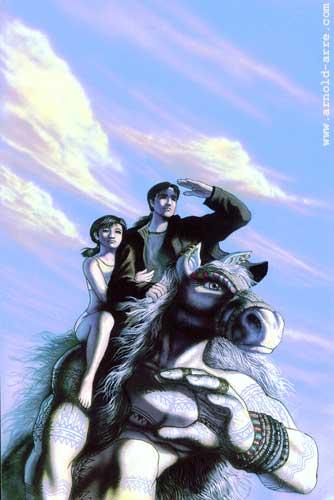 Mythology Class - Nicole and Kubin