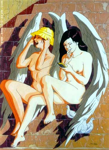 Two Cherubs (Mythos)