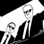 Quark Henares Quentin Tarantino caricature