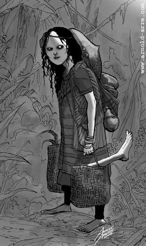 Mangkukulam illustration for Vampire Universe