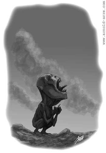 Tiyanak illustration for Vampire Universe